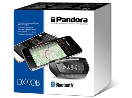 Автосигнализация PANDORA DX 90B 2CAN-LIN Bluetooth